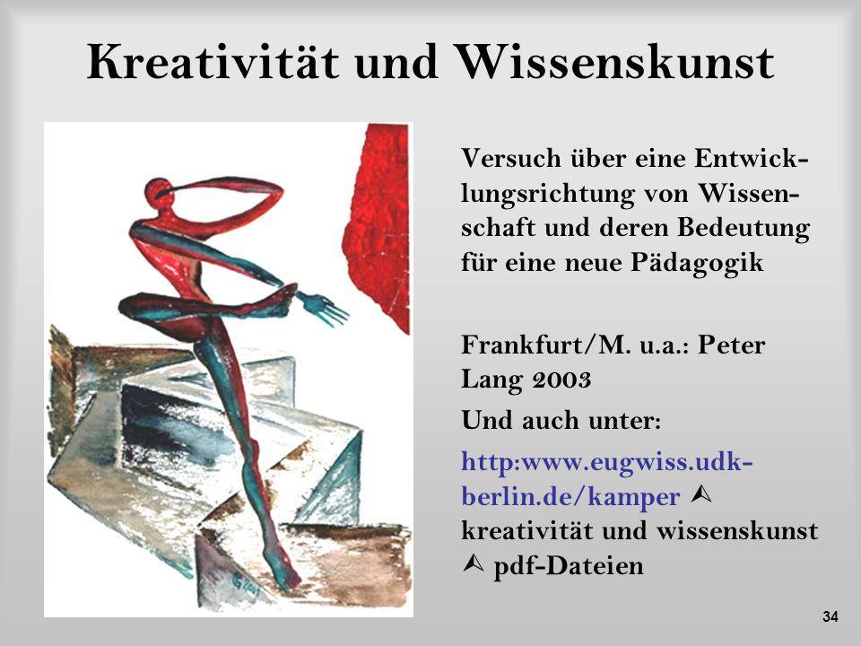 Kreativität und Wissenskunst