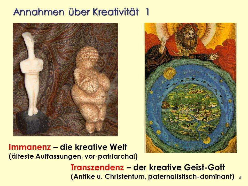 Annahmen über Kreativität 1