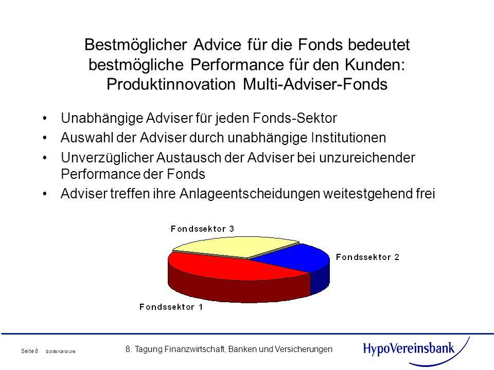 8. Tagung Finanzwirtschaft, Banken und Versicherungen
