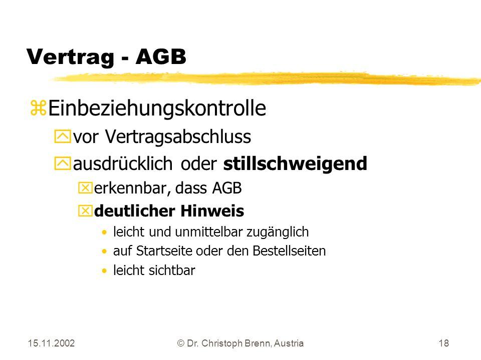 © Dr. Christoph Brenn, Austria