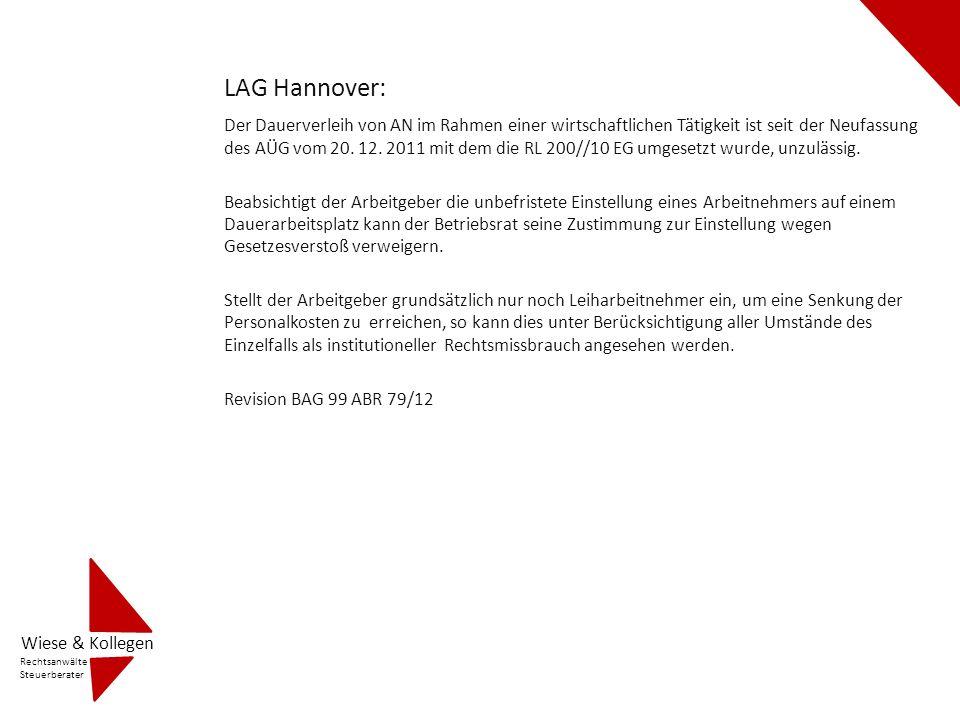 LAG Hannover: