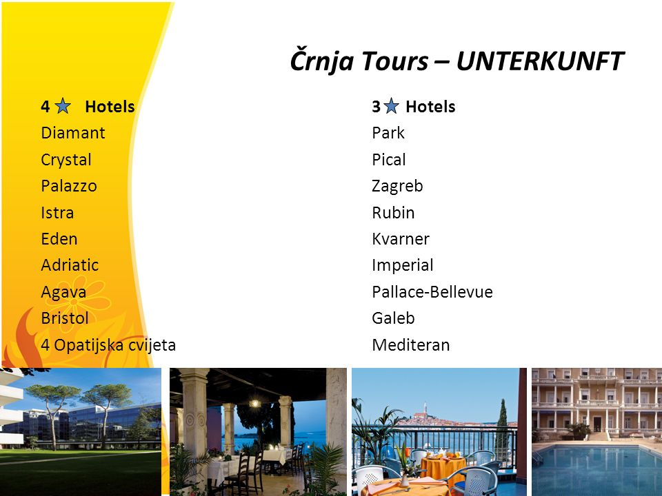 Črnja Tours – UNTERKUNFT