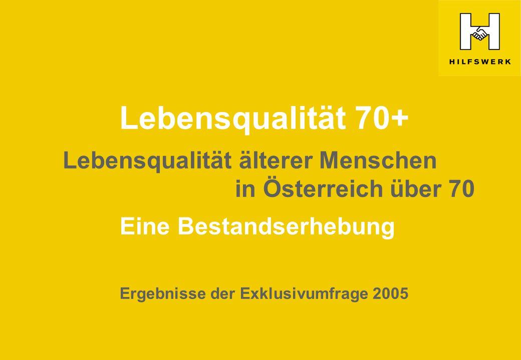 Eine Bestandserhebung Ergebnisse der Exklusivumfrage 2005