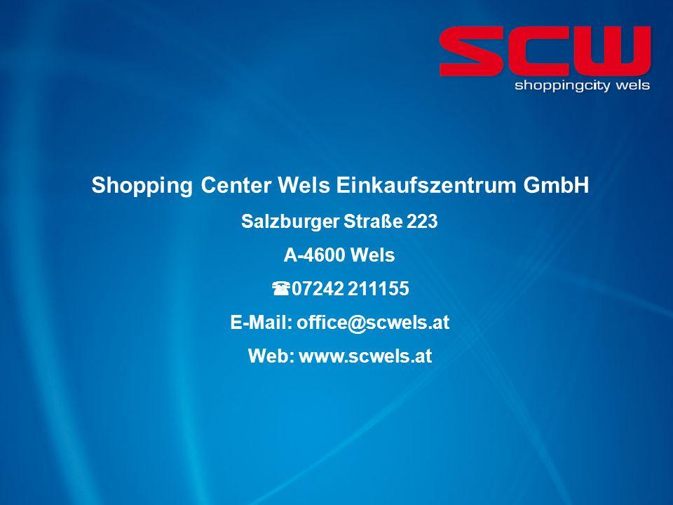 Shopping Center Wels Einkaufszentrum GmbH
