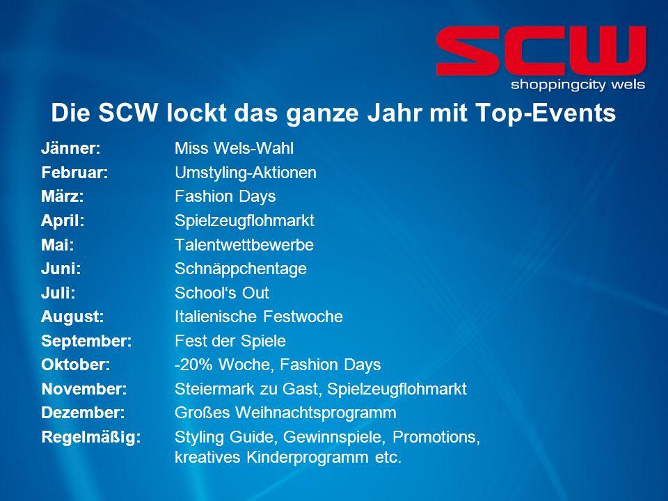 Die SCW lockt das ganze Jahr mit Top-Events