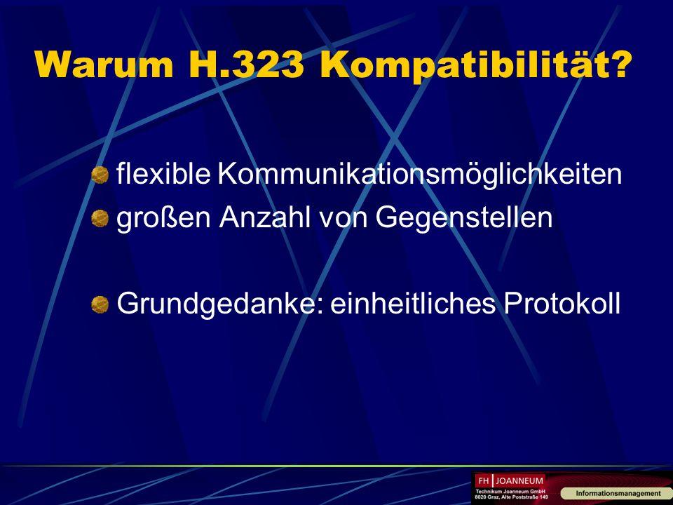 Warum H.323 Kompatibilität