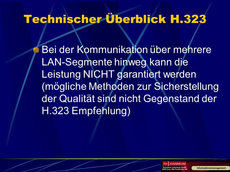 Technischer Überblick H.323