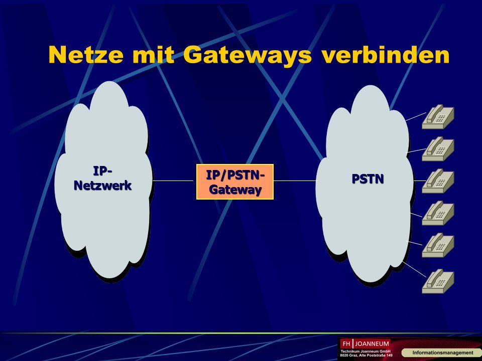 Netze mit Gateways verbinden