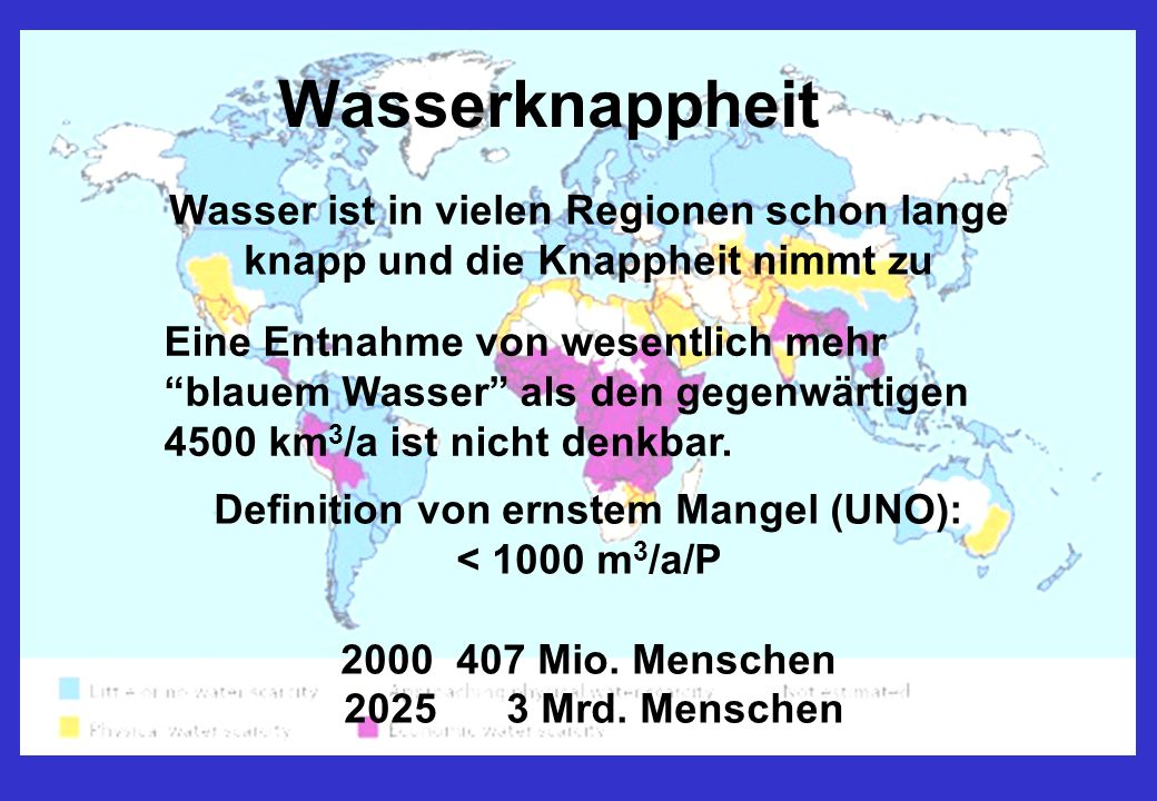 Definition von ernstem Mangel (UNO):