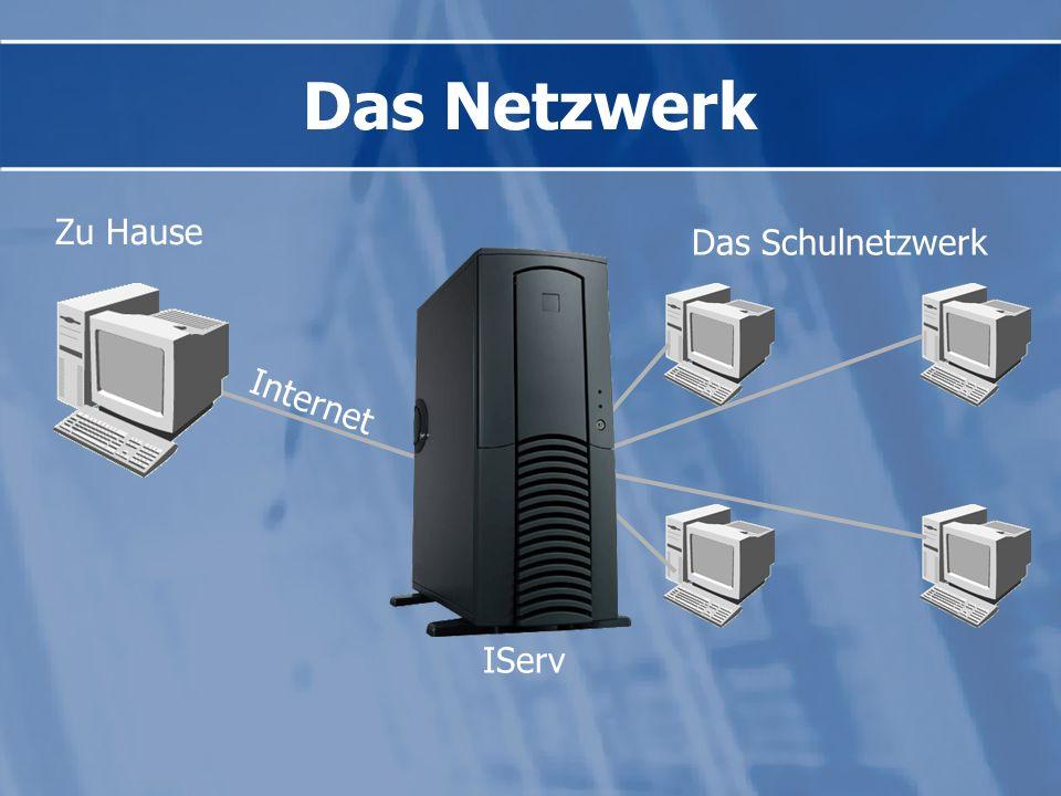 Das Netzwerk Zu Hause Das Schulnetzwerk Internet IServ