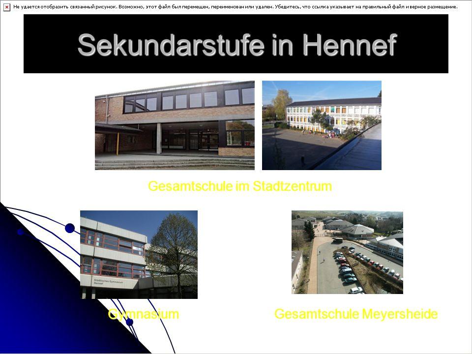 Sekundarstufe in Hennef