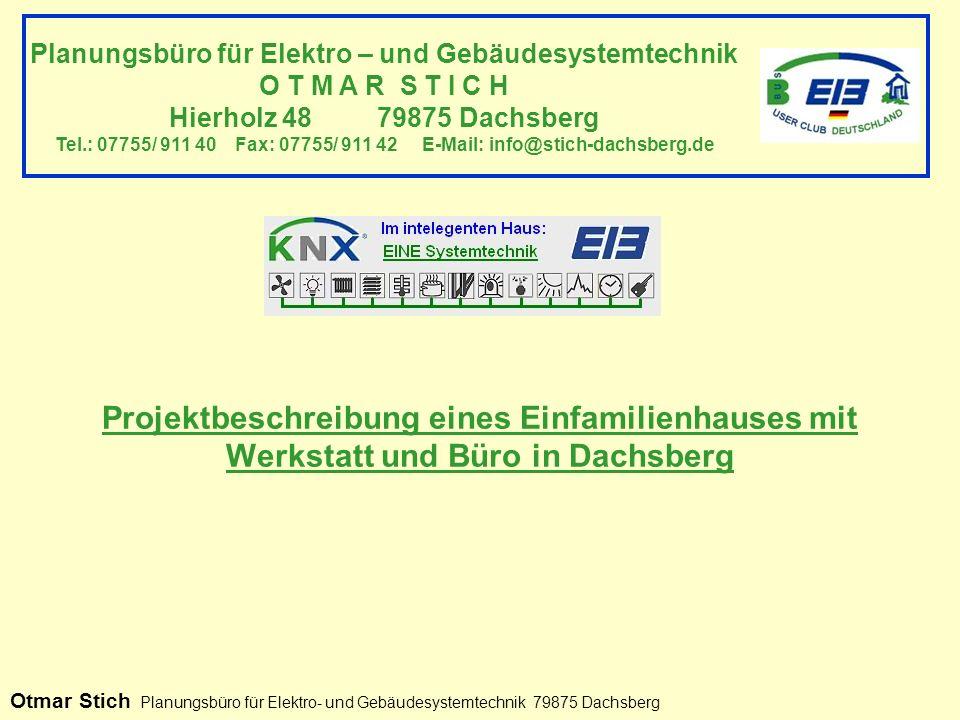 Planungsbüro für Elektro – und Gebäudesystemtechnik
