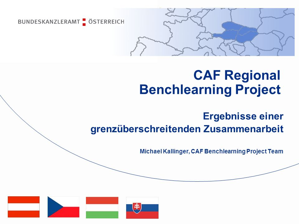 CAF Regional Benchlearning Project