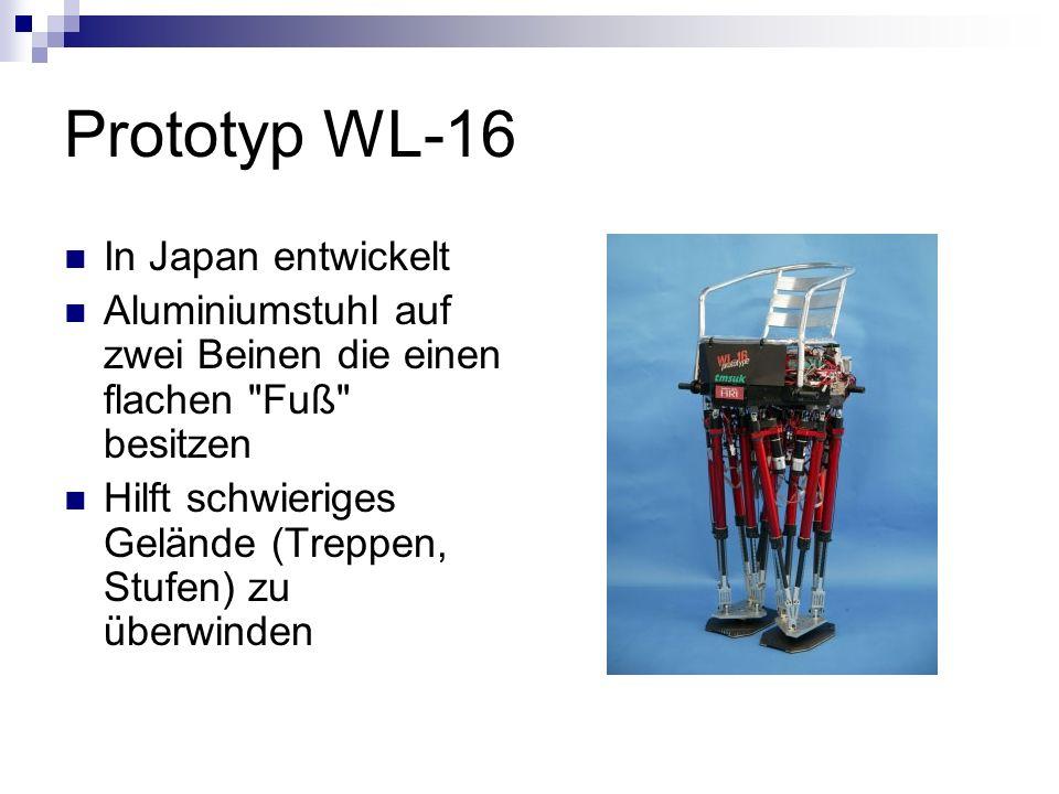 Prototyp WL-16 In Japan entwickelt