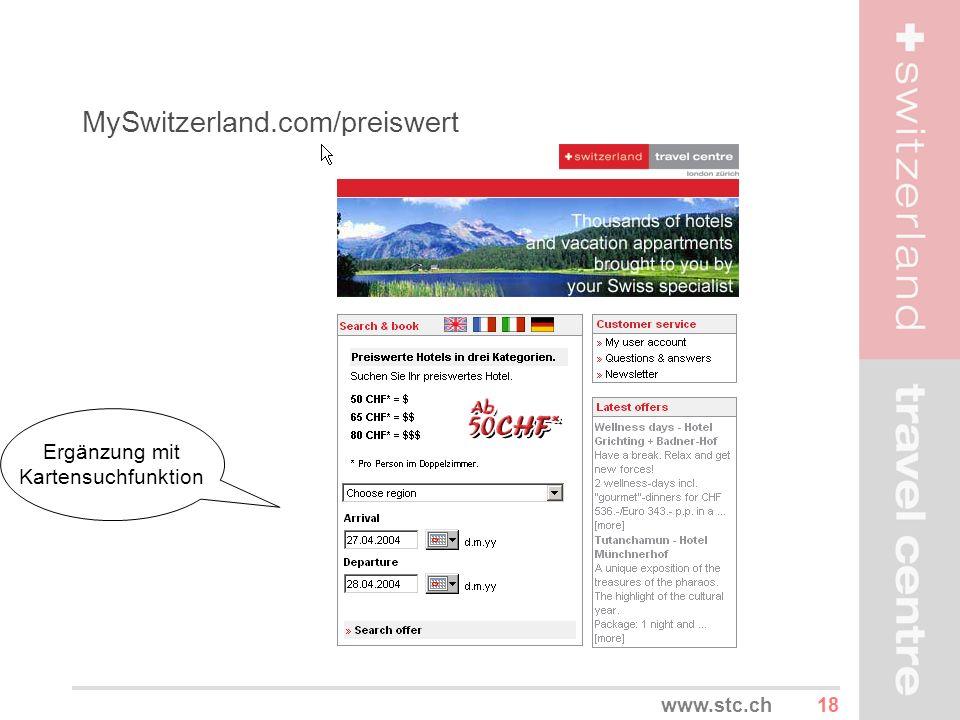 MySwitzerland.com/preiswert