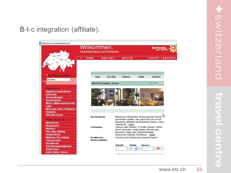 B-t-c integration (affiliate).