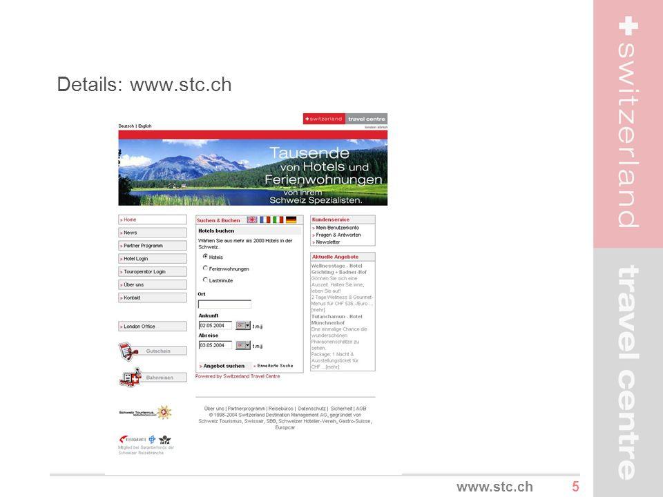 Details: www.stc.ch www.stc.ch