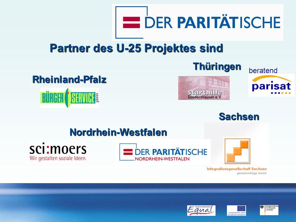 Partner des U-25 Projektes sind