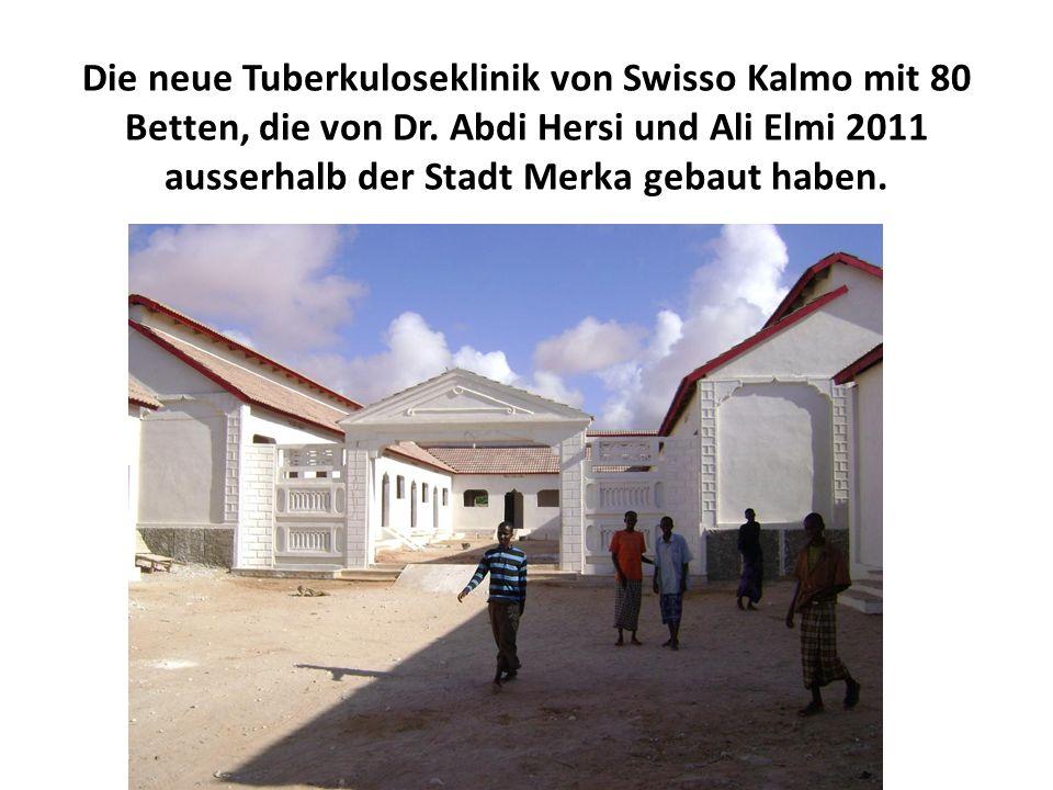 Die neue Tuberkuloseklinik von Swisso Kalmo mit 80 Betten, die von Dr