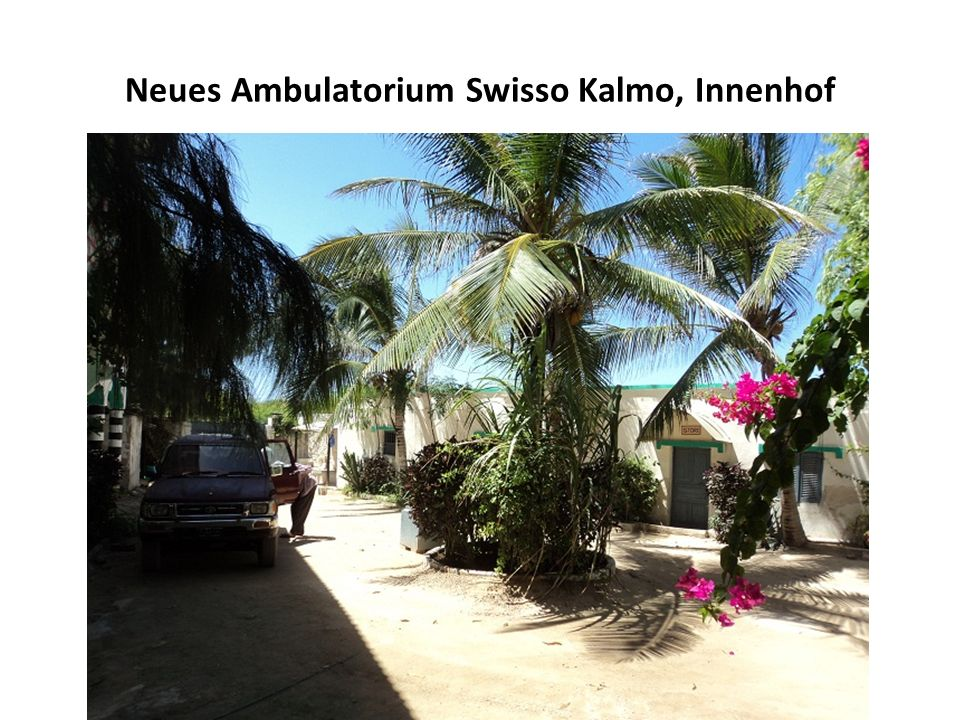 Neues Ambulatorium Swisso Kalmo, Innenhof