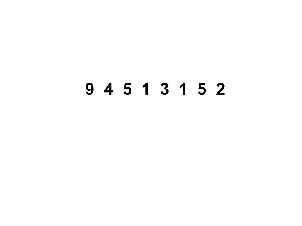 9 4 5 1 3 1 5 2