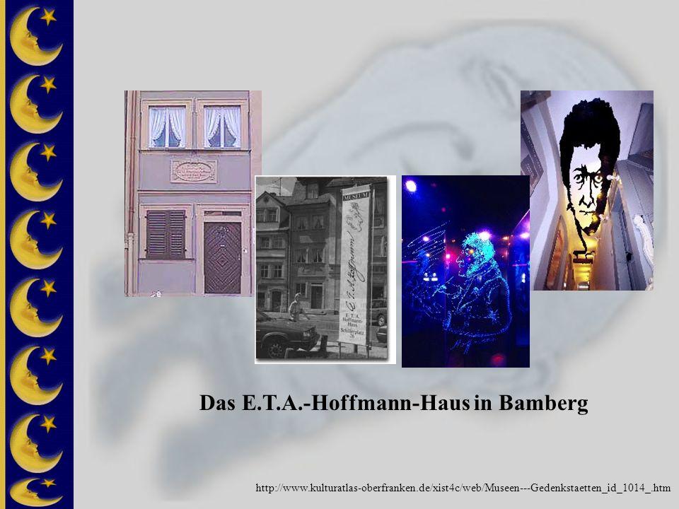 Das E.T.A.-Hoffmann-Haus in Bamberg