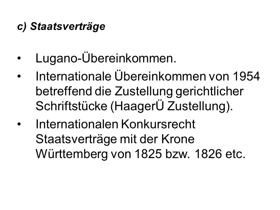 Lugano-Übereinkommen.