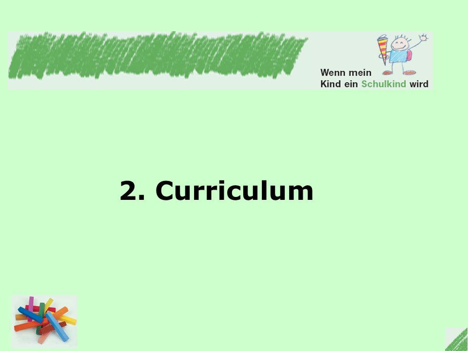 2. Curriculum