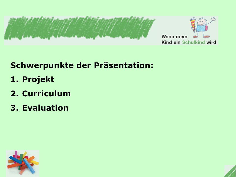 Schwerpunkte der Präsentation: