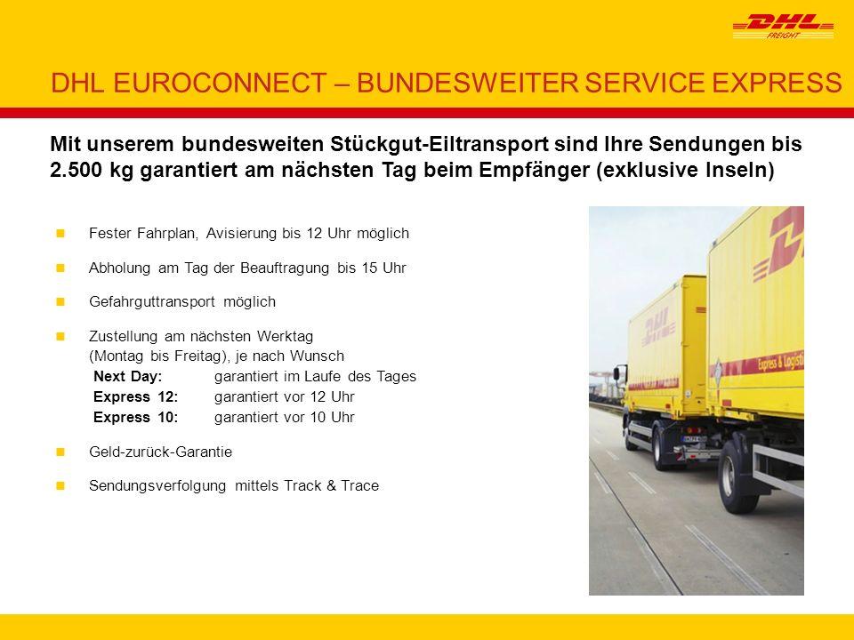 DHL EUROCONNECT – BUNDESWEITER SERVICE EXPRESS