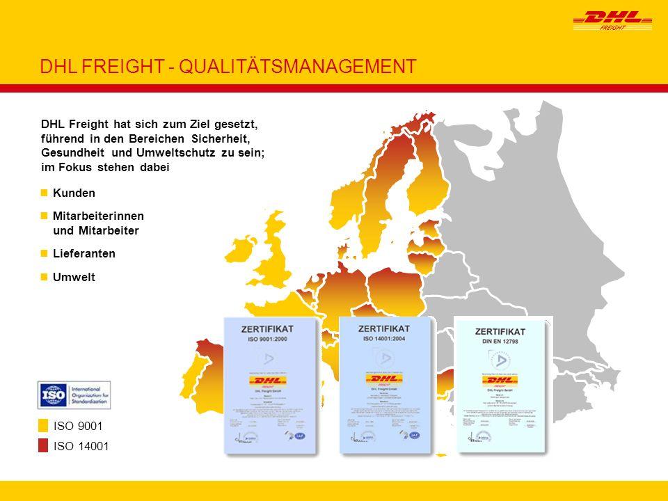 DHL FREIGHT - QUALITÄTSMANAGEMENT