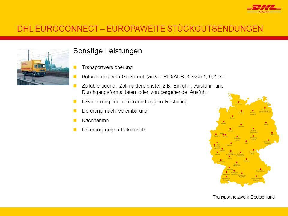 Transportnetzwerk Deutschland