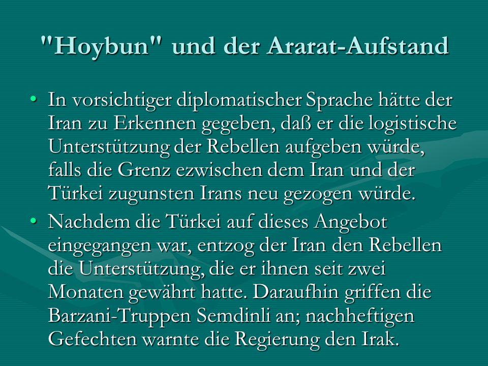 Hoybun und der Ararat-Aufstand