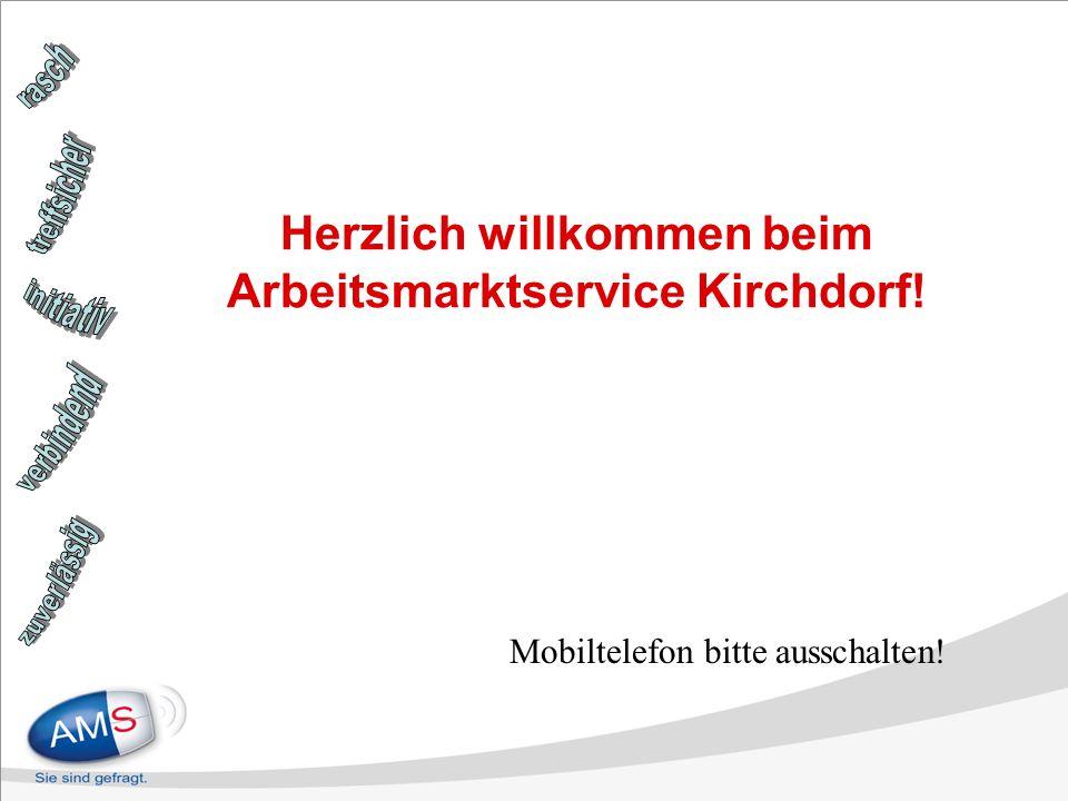 Herzlich willkommen beim Arbeitsmarktservice Kirchdorf!