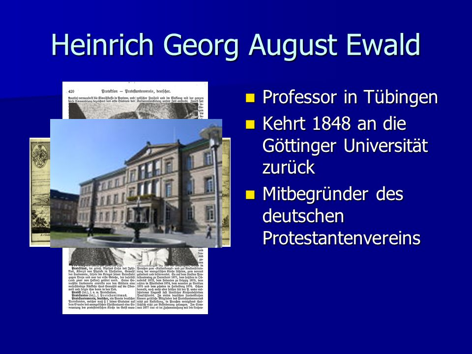 Heinrich Georg August Ewald