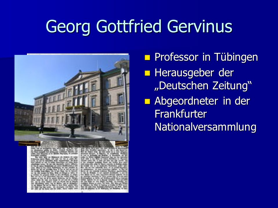 Georg Gottfried Gervinus
