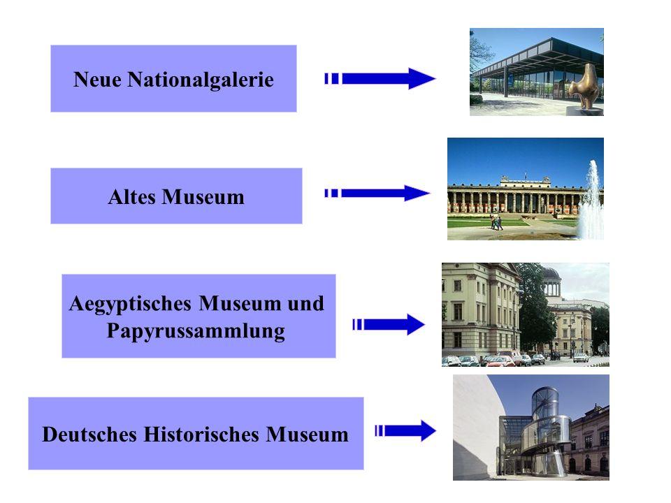 Aegyptisches Museum und Deutsches Historisches Museum