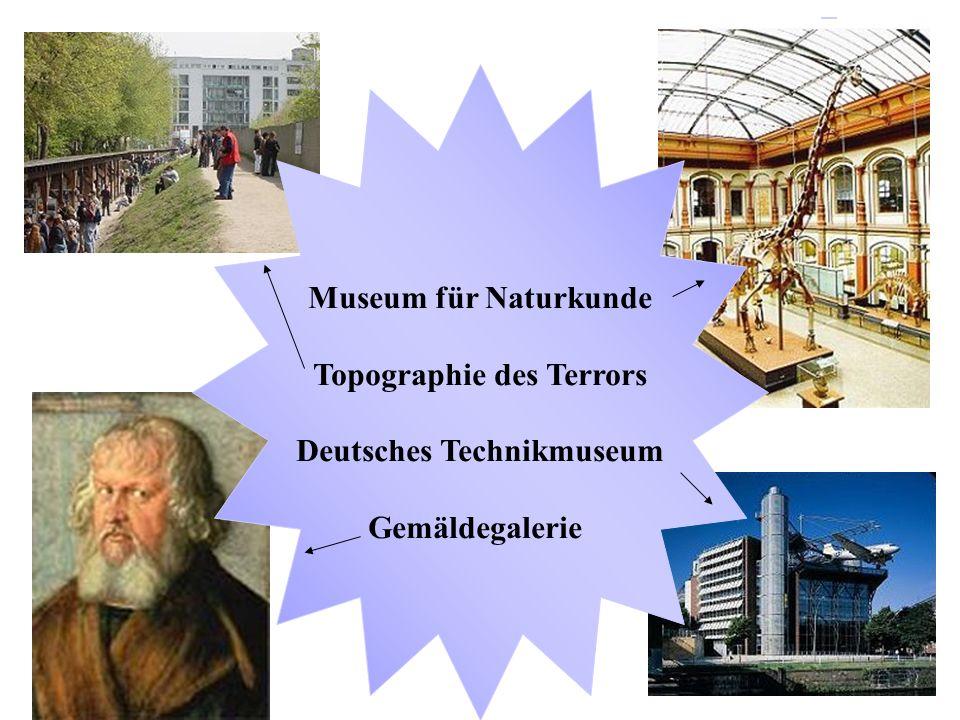 Topographie des Terrors Deutsches Technikmuseum
