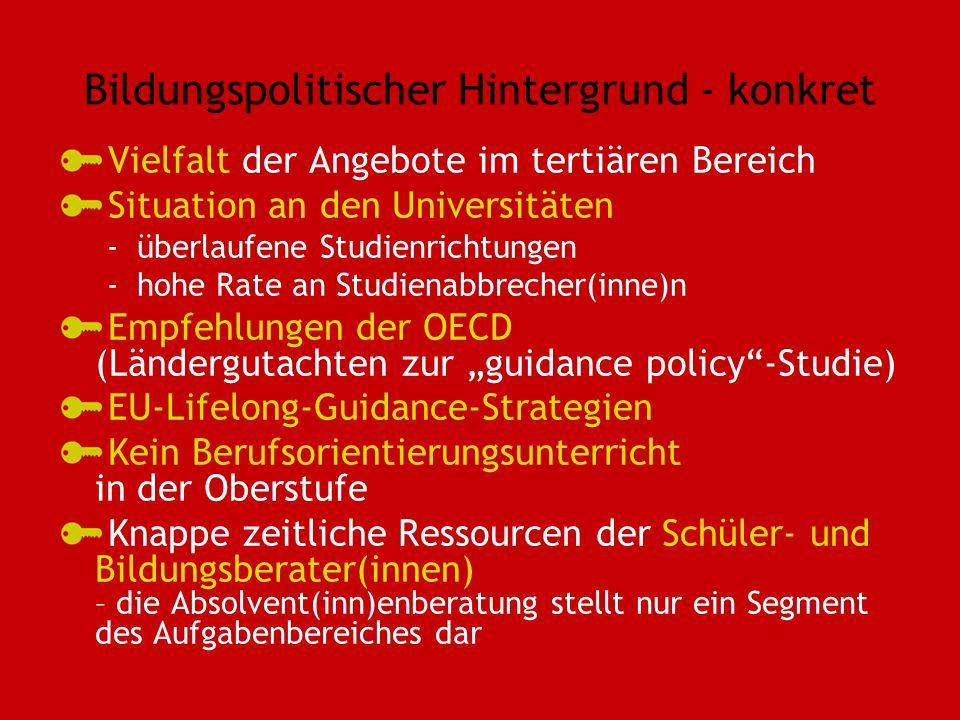 Bildungspolitischer Hintergrund - konkret