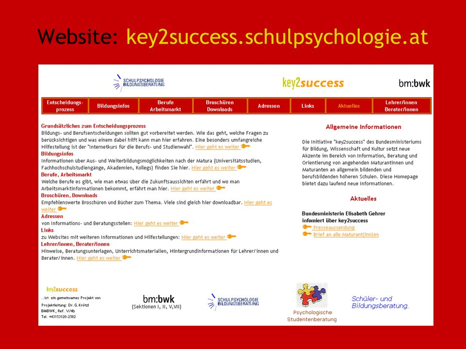 Website: key2success.schulpsychologie.at