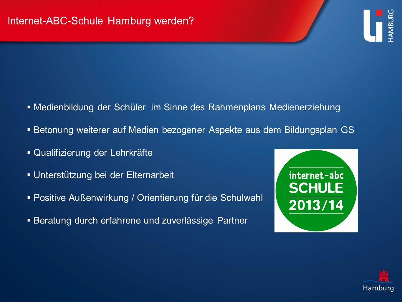 Internet-ABC-Schule Hamburg werden