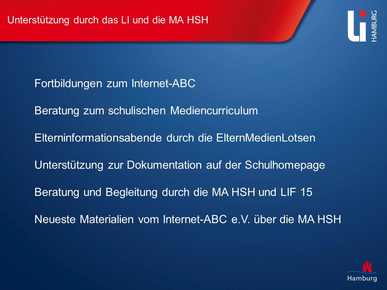 Fortbildungen zum Internet-ABC