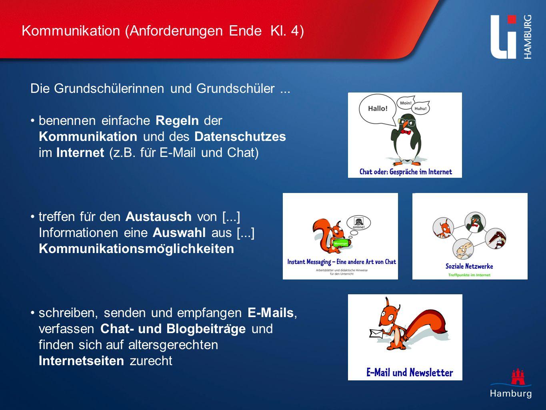 Kommunikation (Anforderungen Ende Kl. 4)