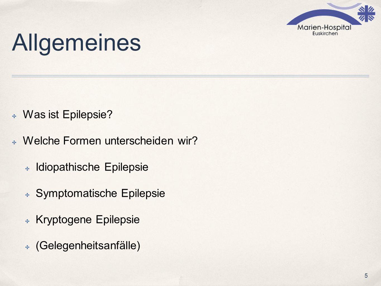 Allgemeines Was ist Epilepsie Welche Formen unterscheiden wir
