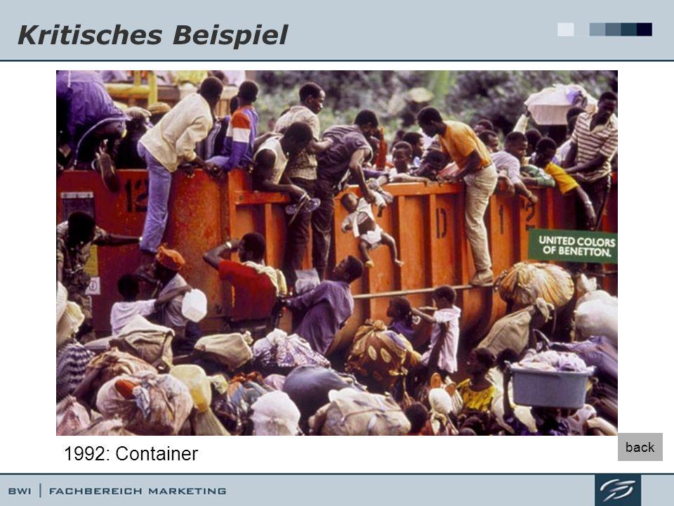 Kritisches Beispiel back 1992: Container