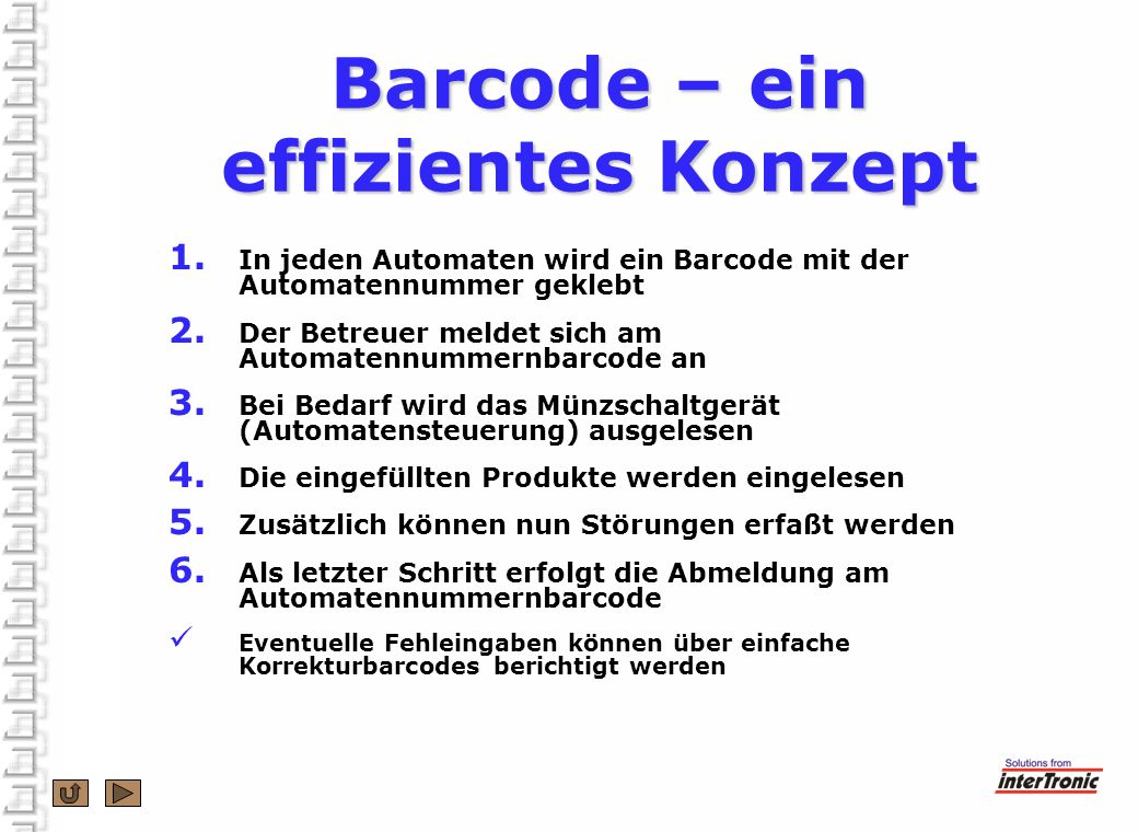 Barcode – ein effizientes Konzept