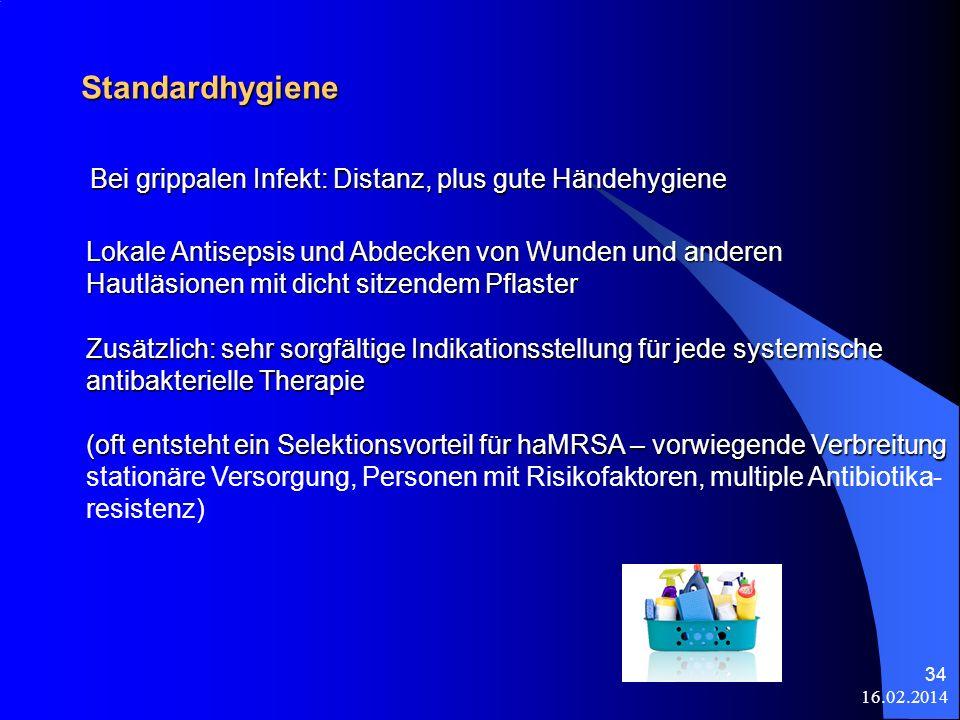 Standardhygiene Bei grippalen Infekt: Distanz, plus gute Händehygiene
