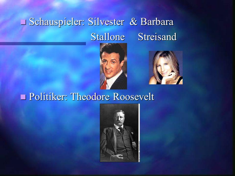 Schauspieler: Silvester & Barbara