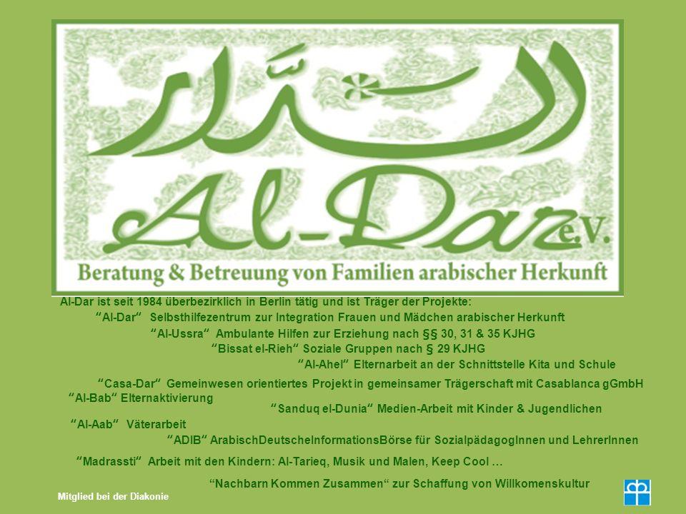 Al-Ussra Ambulante Hilfen zur Erziehung nach §§ 30, 31 & 35 KJHG