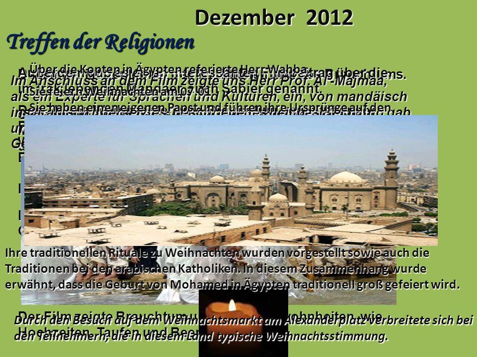 Treffen der Religionen